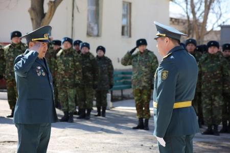 В воинской части 3502 почтили память солдат Казбата, погибших на таджико-афганской границе