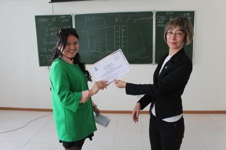 В Актау начинающие предприниматели получили сертификаты