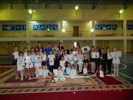 В Мунайлы прошел турнир по художественной гимнастике