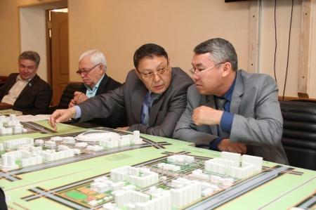 В Актау представили планы планировки пяти новых микрорайонов