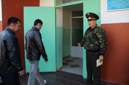 В Актау прошли командно-штабные учения на тему «Эвакуация населения»