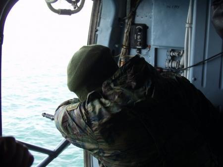 На Каспии береговая охрана с применением оружия задержала браконьеров из Дагестана