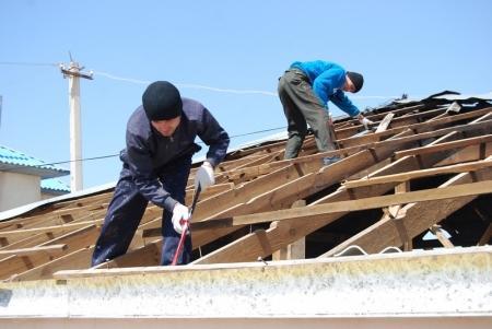 В Мангистау начались работы по восстановлению дома семьи Утюшевых