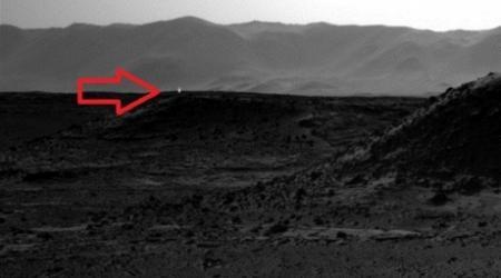 NASA раскрыло тайну загадочного огонька на Марсе