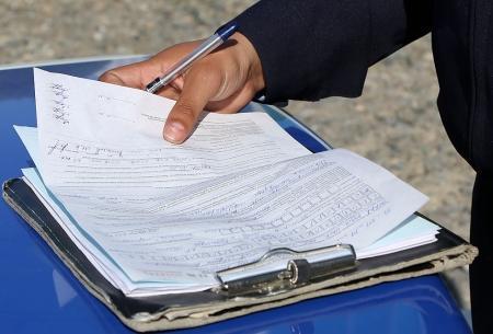 В Актау за вчерашний день 12 водителей оштрафованы за нечитаемые госномера