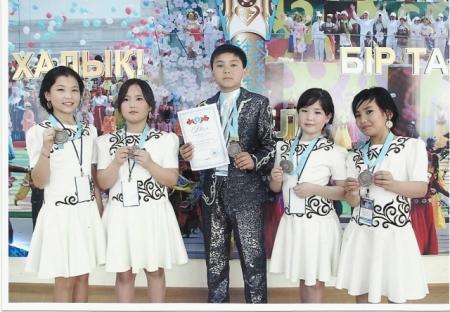 Дети из Каракиянского района привезли два третьих места с конкурса «Ақ көгершін»