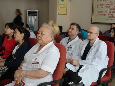 В Мангистауской областной больнице прошел семинар по вопросу снижения смертности населения от болезней системы кровообращения