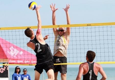 Актауские волейболисты приняли участие в «Khanom Open» и «Sаmila Open»