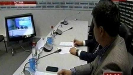 Вопросы статуса Каспийского моря обсуждались в ходе видеоконференции Астана-Москва-Баку