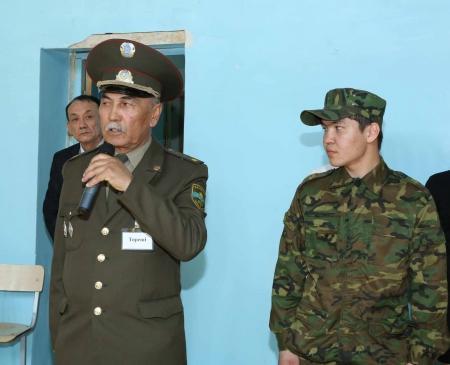 В честь Сайына Шапагатова в школе №20 организовали военно-спортивные состязания