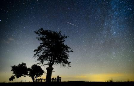 Земля вошла в метеорный поток Лириды, пик которого придется на ночь с 21 на 22 апреля