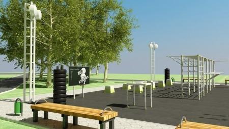 В Актау планируют установить спортивные площадки для занятий воркаутом