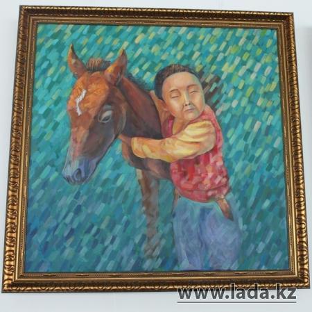 """В Актау в арт-галерее """"Өнер"""" впервые прошел весенний вернисаж"""