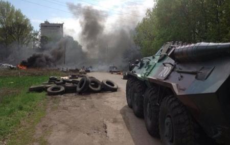 В Славянске начался штурм города - соцсети