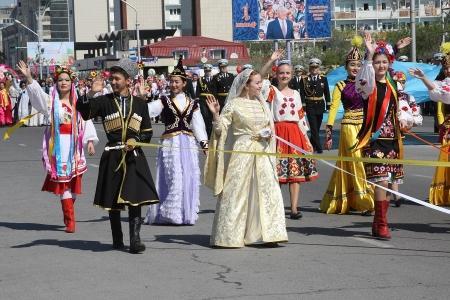 В Актау парад, посвященный 1 мая, пройдет на набережной