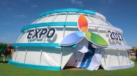 Назарбаев дал старт строительству выставочного комплекса EXPO-2017