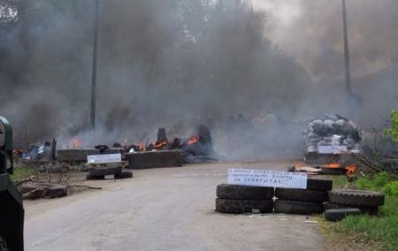 Протестующие в Славянске заявили о тринадцати убитых в боях