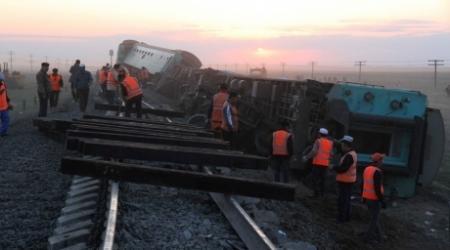 Ремонт путей на месте ЧП в Атырауской области велся с нарушениями