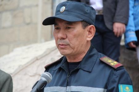 В Актау прошел  седьмой городской слет юных спасателей