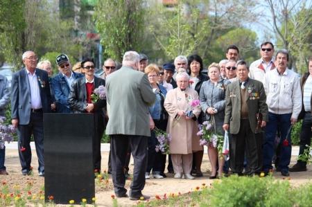 Мангистауские ликвидаторы Чернобыльской аварии отметили  28-ую годовщину трагедии