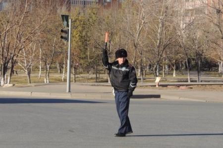 Столичные полицейские отметили 75-летие жезла