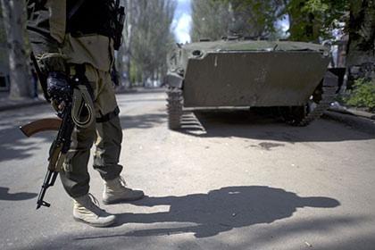 Украинская армия начала атаку на  Славянск
