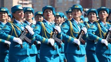 Минобороны отмечает рост числа женщин, готовых служить в Вооруженных силах Казахстана