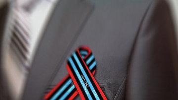 Новый символ Победы – красно-черно-голубая лента - появился в Петропавловске