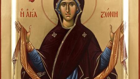 Частица Пояса Пресвятой Богородицы привезена из Москвы в Казахстан