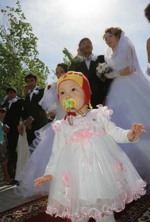 В городе Жанаозен впервые открыл свои двери Дворец бракосочетания