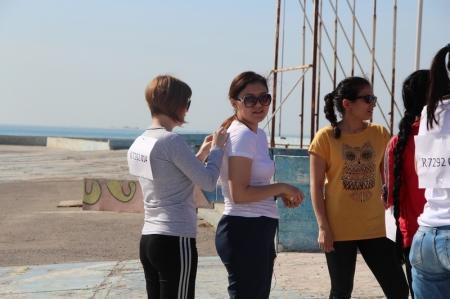 В Актау состоялся забег в честь Дня единства народа Казахстана
