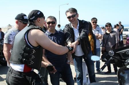 Байкеры Актау открыли мотосезон-2014