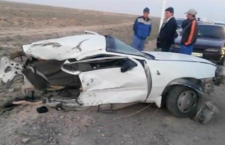 В дорожной аварии в Мангистау погиб водитель автомашины Toyota Land Cruiser