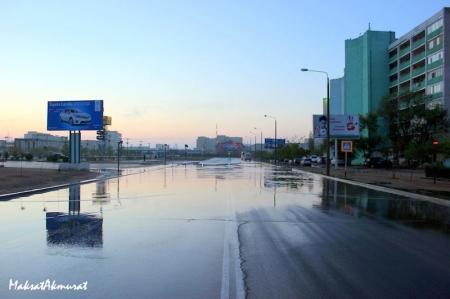 Актау после дождя. Фотопост