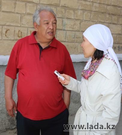 Жители 14 микрорайона Актау провели обряд «Тасаттық», чтобы вызвать дождь