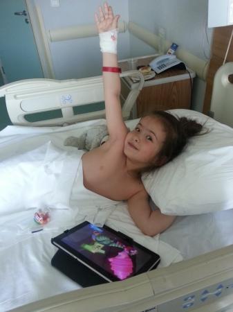 Диана Пташкина вернулась домой после операции в Турции