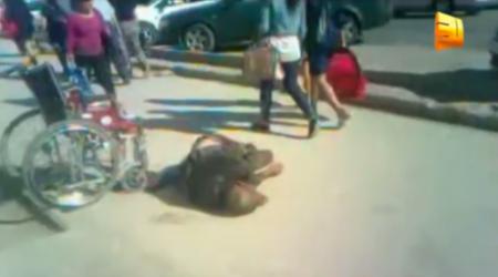 Жестокое видео сняли в центре Актобе