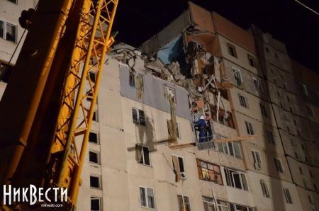 Спасатели уже нашли место, где под завалом находится девушка, пострадавшая во взрыве дома в Николаеве