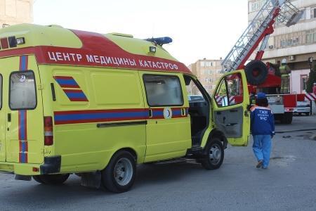 Десять человек были эвакуированы из-за пожара в 12 микрорайоне Актау