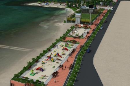 Городской отдел внутренней политики предоставил проект набережной Актау