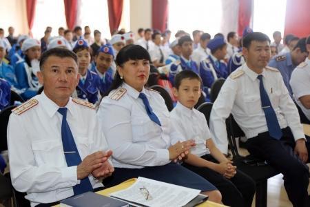 В Актау прошел областной слет юных инспекторов дорожной полиции