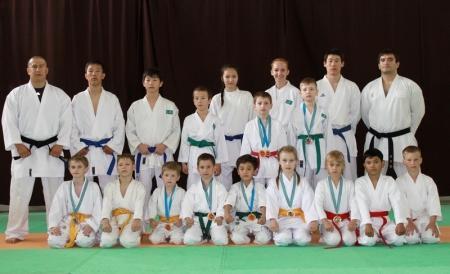 Актауские юные каратисты привезли c чемпионата Казахстана 26 медалей