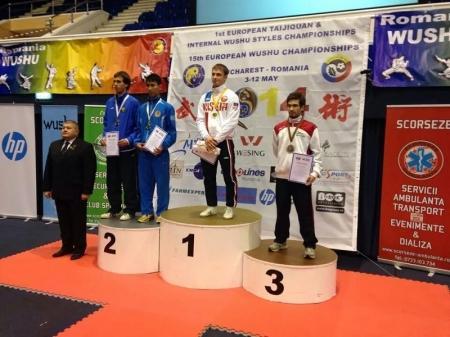 Актауские ушуисты стали призерами чемпионата Европы в Бухаресте