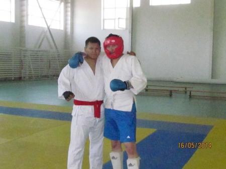 Финансовые полицейские из Актау стали серебряными призерами соревнований по рукопашному бою