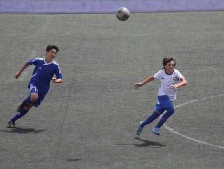 Юношеская команда «Каспий» одержала победу над шымкентским «Кыраном»