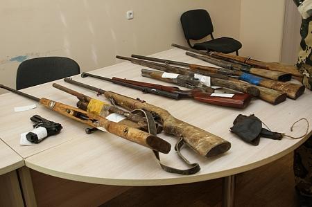 Житель Мангистауской области сдал в полицию раритетный револьвер