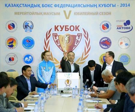 Мангистауские спортсмены готовятся к борьбе за Кубок Казахстанской федерации бокса