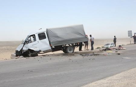 По факту аварии на трассе Актау-Акшукур назначена техническая экспертиза