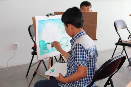 В Актау состоялся конкурс молодых художников