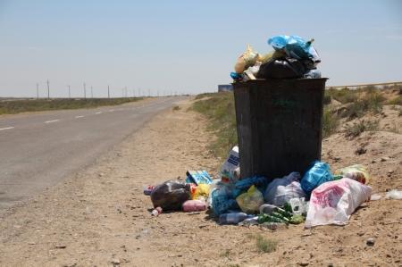 Куда делись все контейнера для мусора???